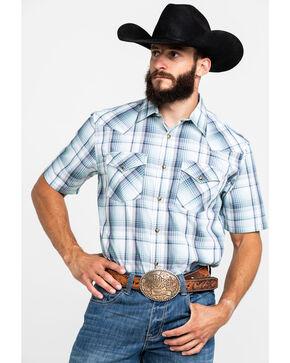 Pendelton Men's Frontier Short Sleeve Shirt , Light Green, hi-res