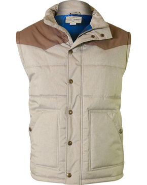 Cody James Men's Squaw Valley Insulated Vest, Tan, hi-res