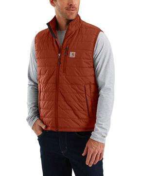 Carhartt Men's Gilliam Vest - Big and Tall , Red/brown, hi-res