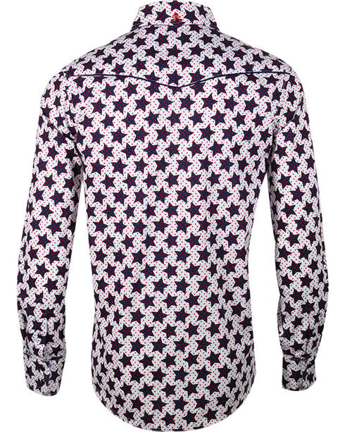 Rock Roll n Soul Men's Star Man Long Sleeve Shirt, , hi-res