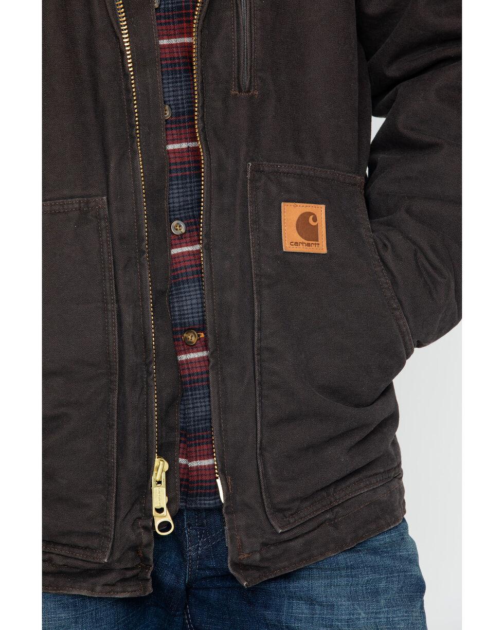 Carhartt Sandstone Ridge Sherpa Lined Coat, Brown, hi-res