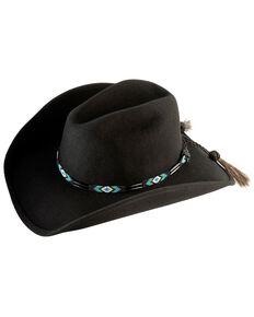 Bullhide Secret Message Wool Hat, Black, hi-res