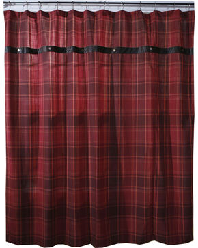 Carstens Sagamore Lake Placid Shower Curtain, Red, hi-res