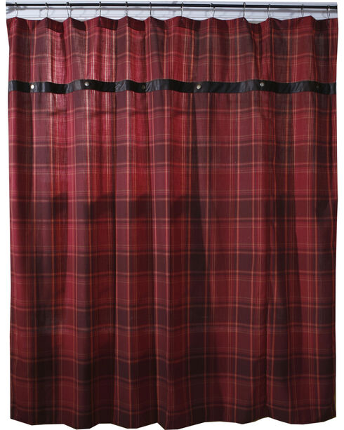 Carstens Sagamore Lake Placid Shower Curtain, Red, hi-res