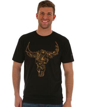 Wrangler Men's Black Steer Graphic Tee , Black, hi-res