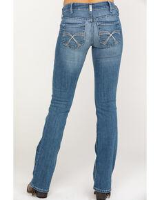 Ariat Women's R.E.A.L. Franky Bootcut Jeans , Blue, hi-res