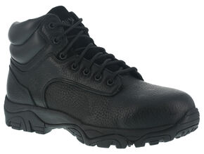 Iron Age Trencher Non-Metallic Work Boots -  Composite Toe, Black, hi-res