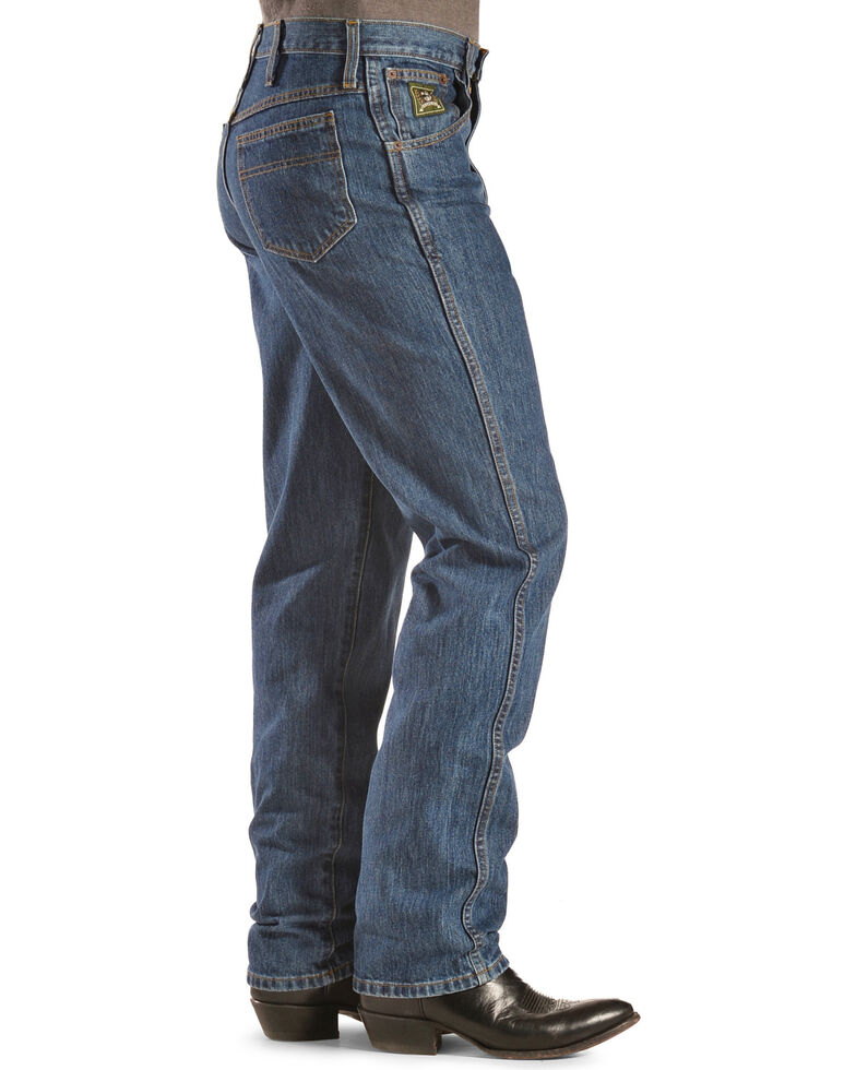 "Cinch Jeans - Green Label Relaxed Fit - 38"" Tall Inseam, Dark Stone, hi-res"