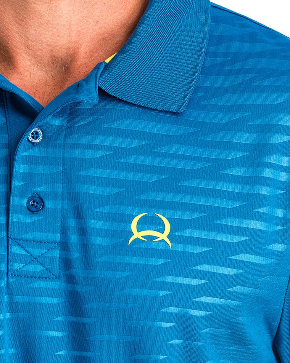 Cinch Men's ArenaFlex Blue Tech Polo, Blue, hi-res