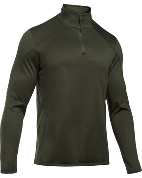 Under Armour Men's Reactor 1/4 Zip Pullover , Green, hi-res