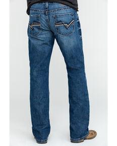 Ariat Men's M4 Midway Low Rise Boot Cut Jeans , Indigo, hi-res