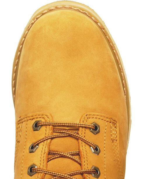 """Timberland PRO Pit Boss 6"""" Lace-Up Work Boots - Steel Toe, Wheat, hi-res"""