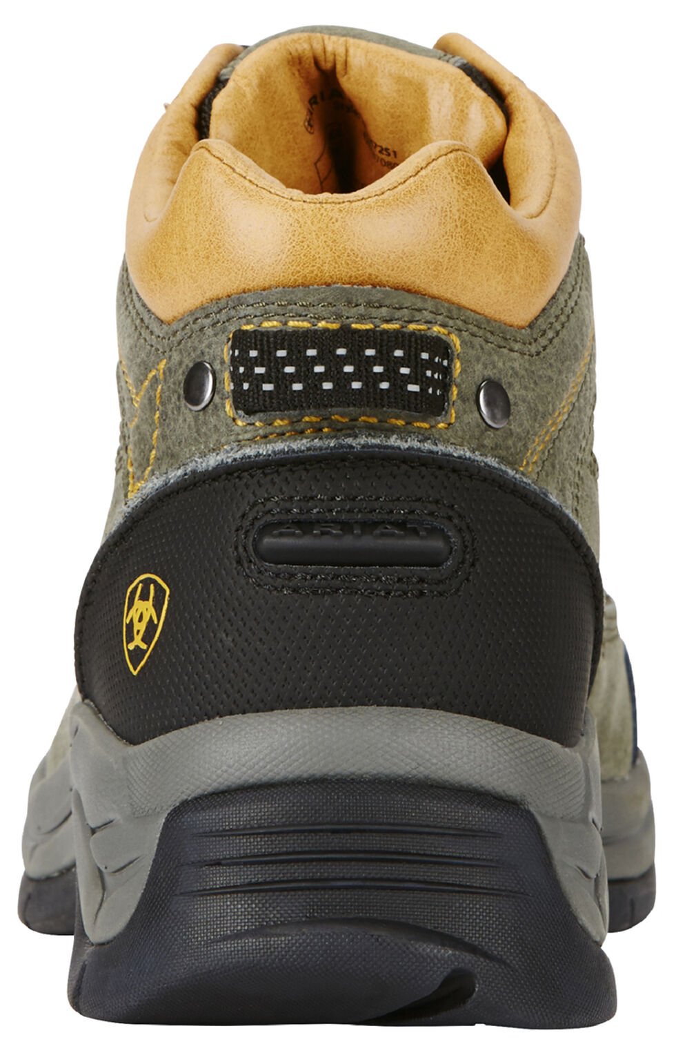 Ariat Men's Olive Terrain Pro Performance Boots - Round Toe, Olive, hi-res