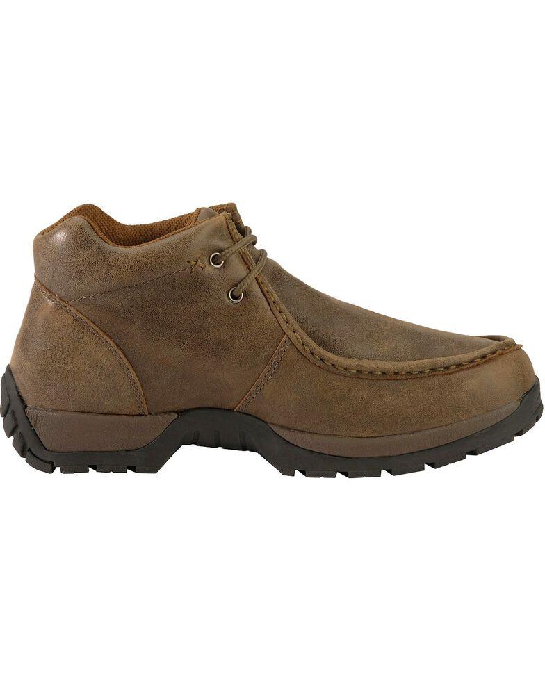 9b085c3a90344 Roper Men's Vintage Nubuck Rugged Sole Shoes