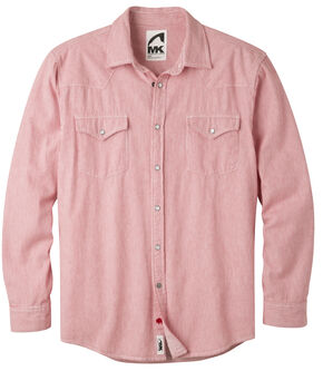 Mountain Khakis Men's Red Railroad Original Mountain Denim Shirt , Red, hi-res
