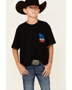 Cody James Boys'  Forever Cowboy Flag Graphic T-Shirt , Black, hi-res