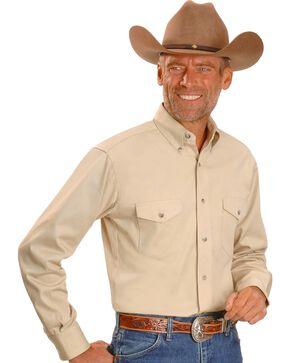 Wrangler Painted Desert Shirt - Tall, Big/Tall, Tan, hi-res