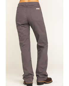 Wrangler Riggs Women's Charcoal Advanced Comfort Work Pants , Charcoal, hi-res