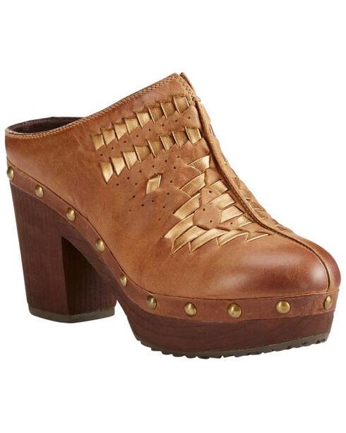 Ariat Women's Bria Bronzed Brown Clogs, Brown, hi-res