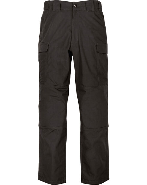 5.11 Tactical Twill TDU Pants - 3XL and 4XL, Black, hi-res