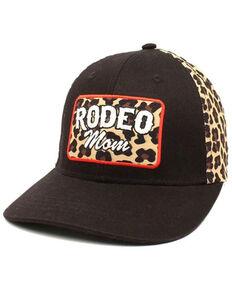 Ariat Women's Rodeo Mom Cheetah Print Patch Ball Cap , Black, hi-res