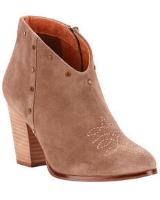 Ariat Women's Unbridled Kaelyn Western Fashion Booties - Medium Toe, Taupe, hi-res