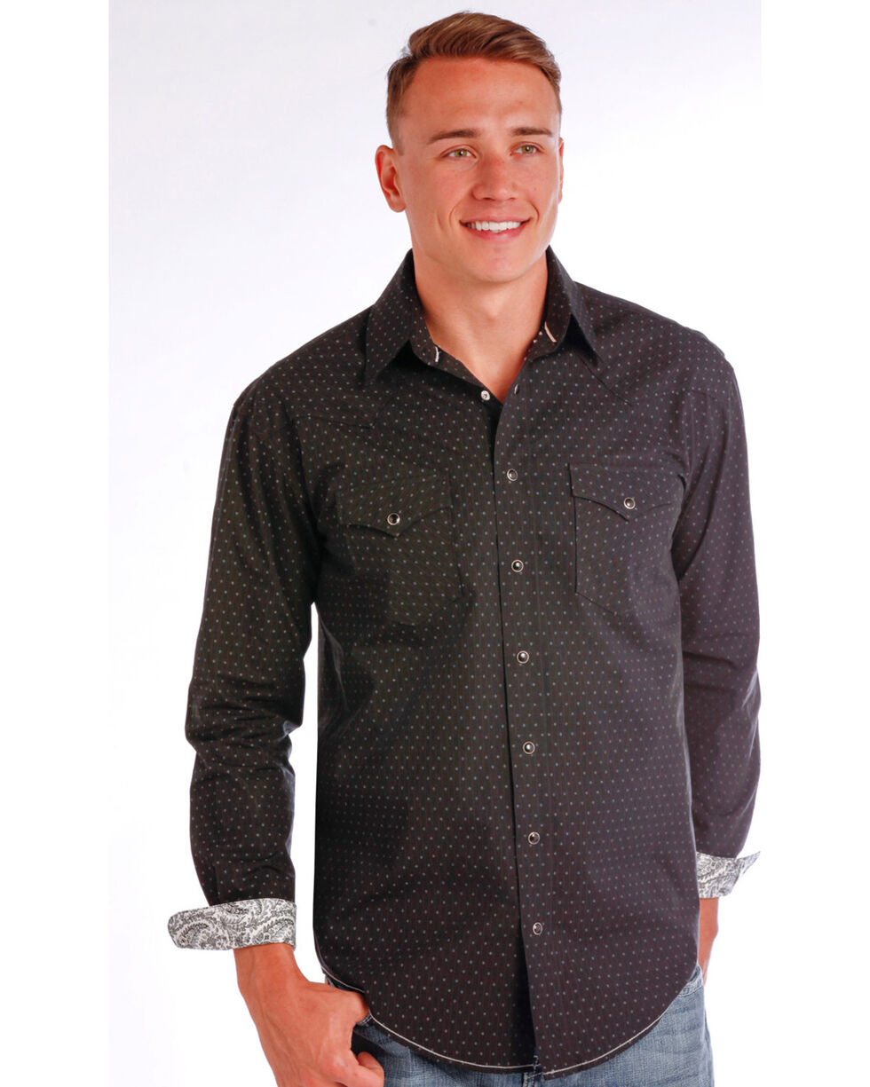 Rough Stock by Panhandle Men's Sheffield Antique Shirt , , hi-res