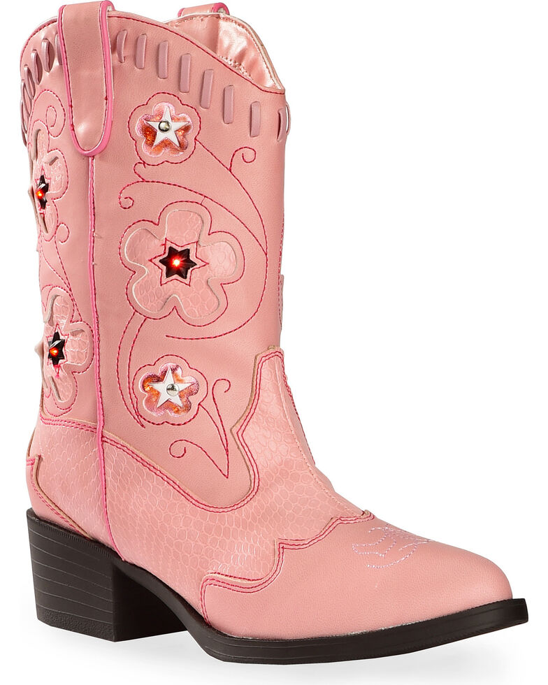 ba93b508ffb Roper Girls' Light Up Cowgirl Boots