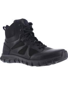 """Reebok Men's 6"""" Sublite Cushion Tactical Boots - Soft Toe , Black, hi-res"""