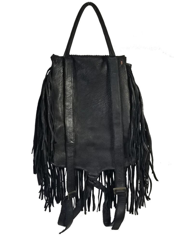 Kobler Leather Women's Black Rucksack Backpack, Black, hi-res