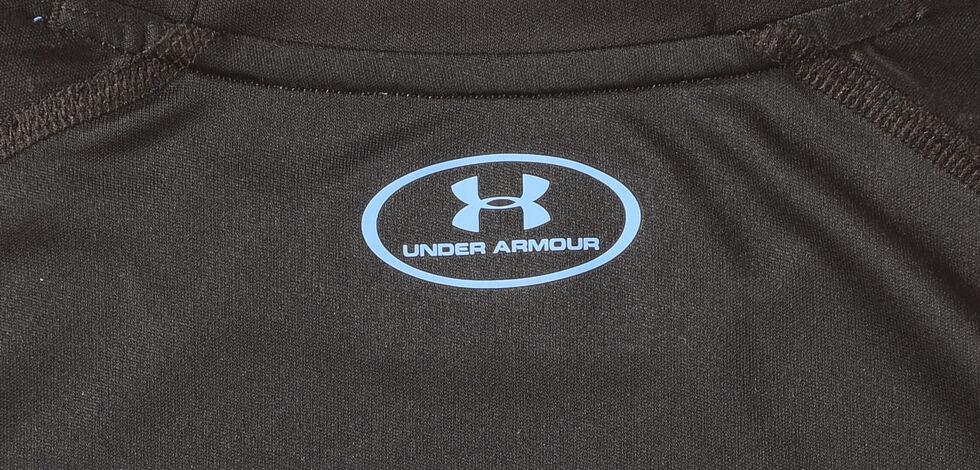 Under Armour Boys' Black Fish Hunter Tech Long Sleeve Shirt , , hi-res
