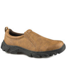 Roper Men's Tan Cotter Faux Leather Shoes , Tan, hi-res