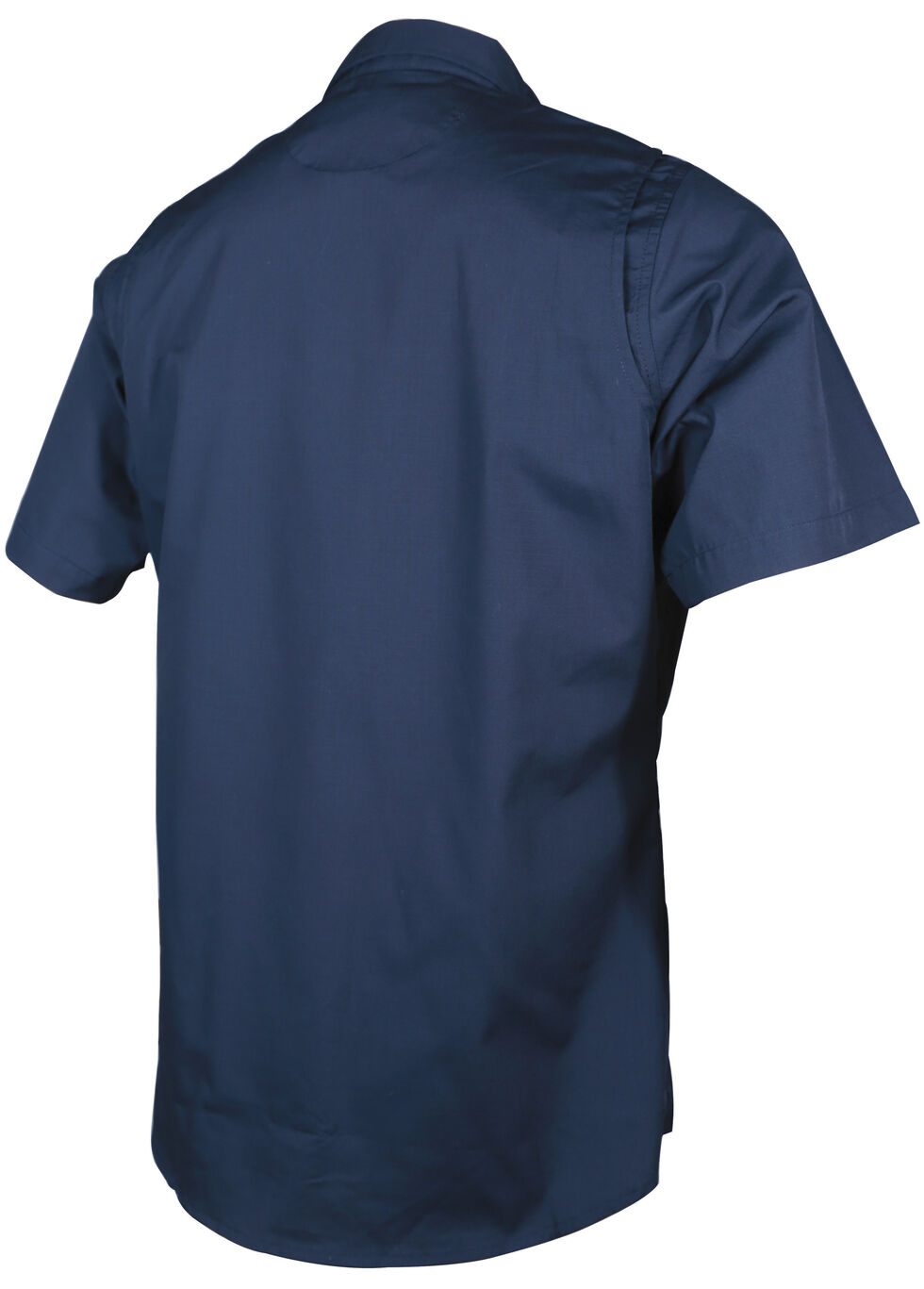 Tru-Spec Men's Navy 24-7 Short Sleeve Dress Shirt , Navy, hi-res