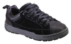 Caterpillar Women's Brode Work Shoes - Steel Toe, Black, hi-res
