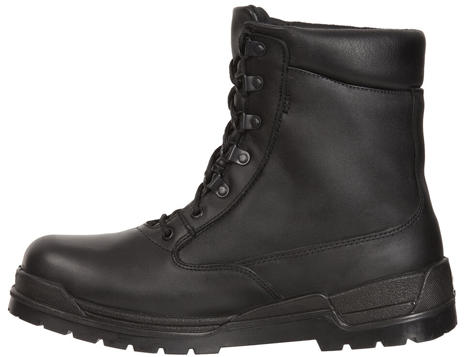 Rocky Eliminator Gore-Tex Waterproof Insulated Duty Boots - Round Toe, Black, hi-res