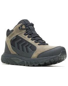 Bates Men's Rush Shield Dryguard Waterproof Work Boots - Soft Toe, Olive, hi-res