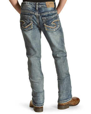 Silver Toddler Girls' Tammy Dark Wash Jeans - Boot Cut, Indigo, hi-res