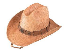 Henschel Raffia Straw Cowboy Hat, Straw, hi-res