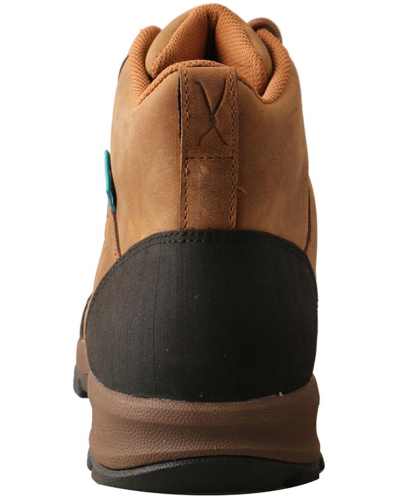 Twisted X Men's Waterproof Hiker Work Boots - Soft Toe, Tan, hi-res