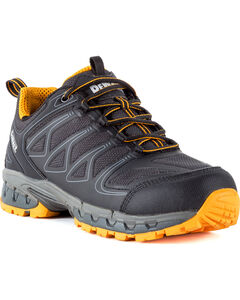 DeWalt Men's Boron Athletic Work Shoes - Aluminum Toe, Black, hi-res