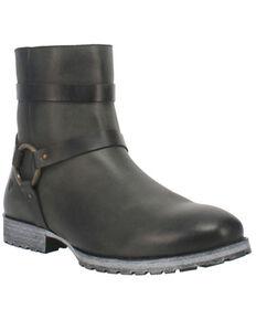 Dingo Men's American Spirit Boots - Round Toe, Black, hi-res