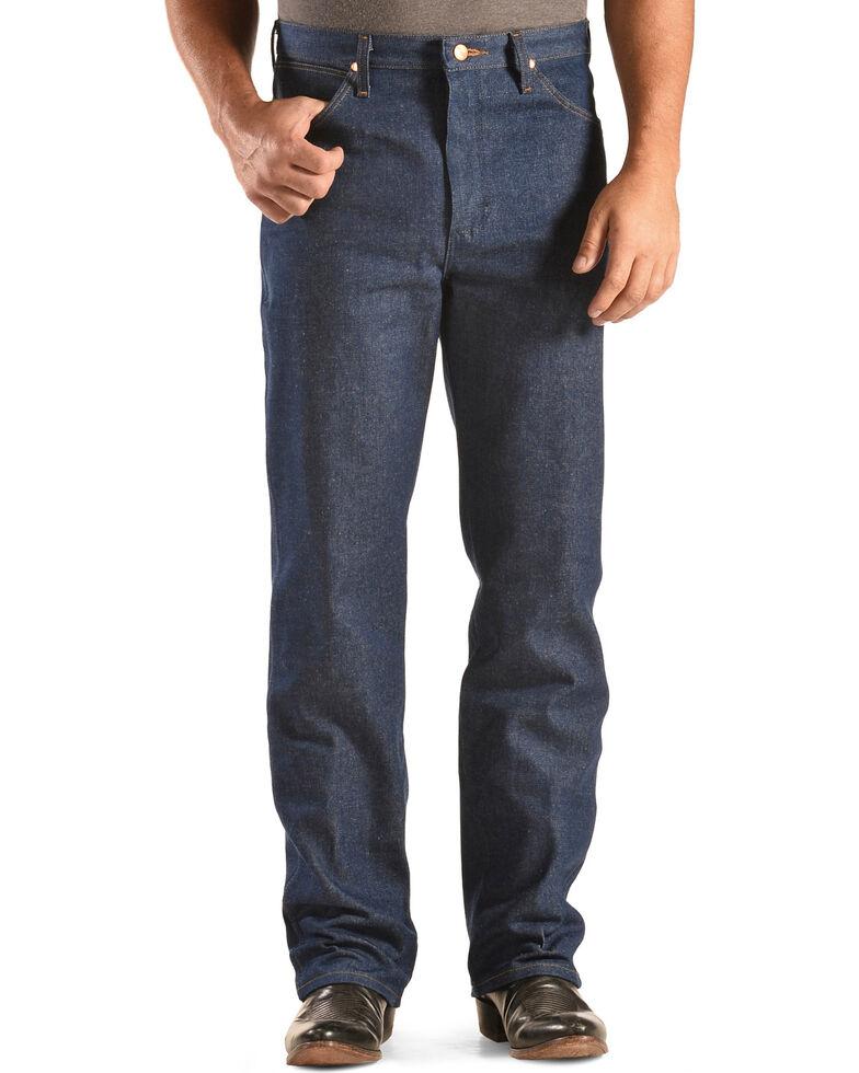 """Wrangler 936 Cowboy Cut Rigid Slim Fit Jeans - 38"""" & 40"""" Tall Inseams, Indigo, hi-res"""