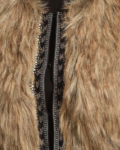 Shyanne Women's Faux Fur Cropped Vest, , hi-res