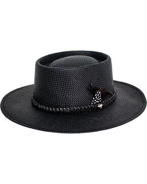Peter Grimm Women's Black Lara Straw Hat , Black, hi-res
