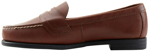 Eastland Women's Brown Classic II Penny Loafer , Brown, hi-res