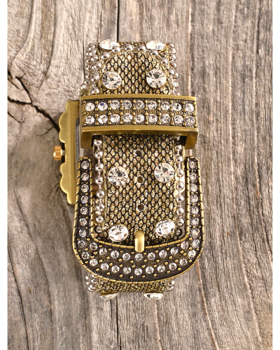 Shyanne Women's Mesh Strap Rhinestone Watch, Multi, hi-res