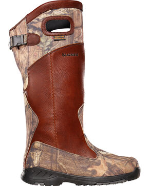 LaCrosse Men's Adder Scent HD Mossy Oak Snake Boots - Round Toe , Camouflage, hi-res