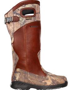LaCrosse Men's Adder Scent HD Mossy Oak Snake Boots - Round Toe , Camouflage, hi-res