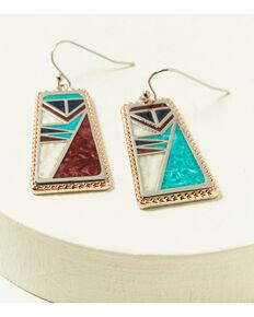 Montana Silversmiths Women's American Legends Tablet Earrings, Silver, hi-res