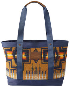 Pendleton Women's Harding Tan Zipper Tote Bag, Tan, hi-res